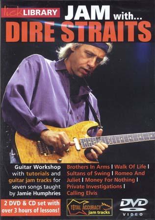 Dire Straits - Lick Library Jam + Cd - Guitare