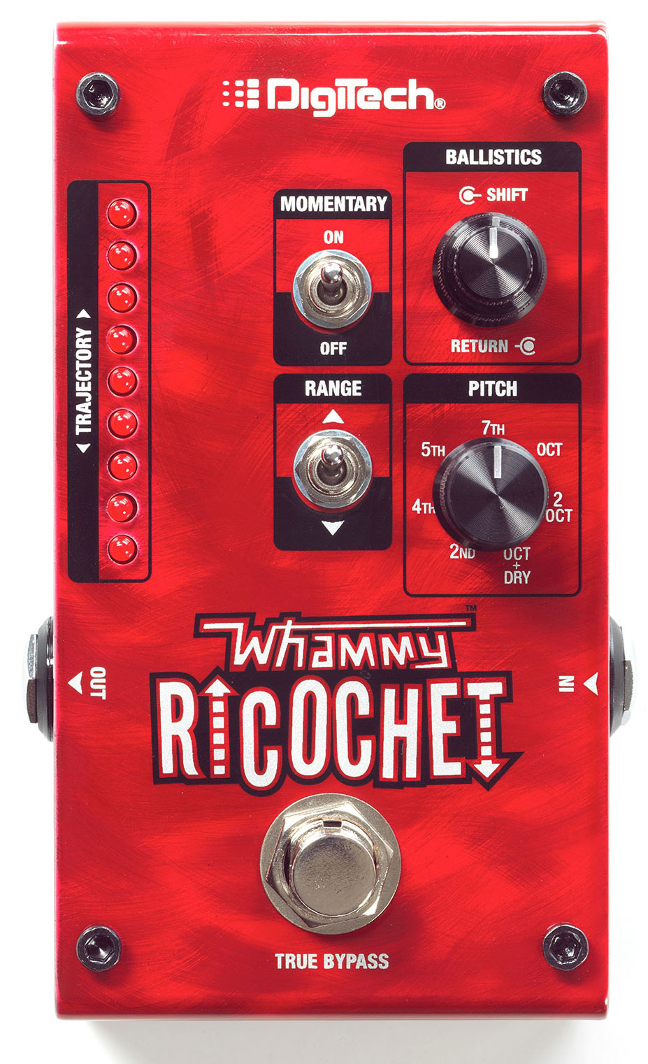 Digitech Whammy Ricochet Pitch Shift Pedal