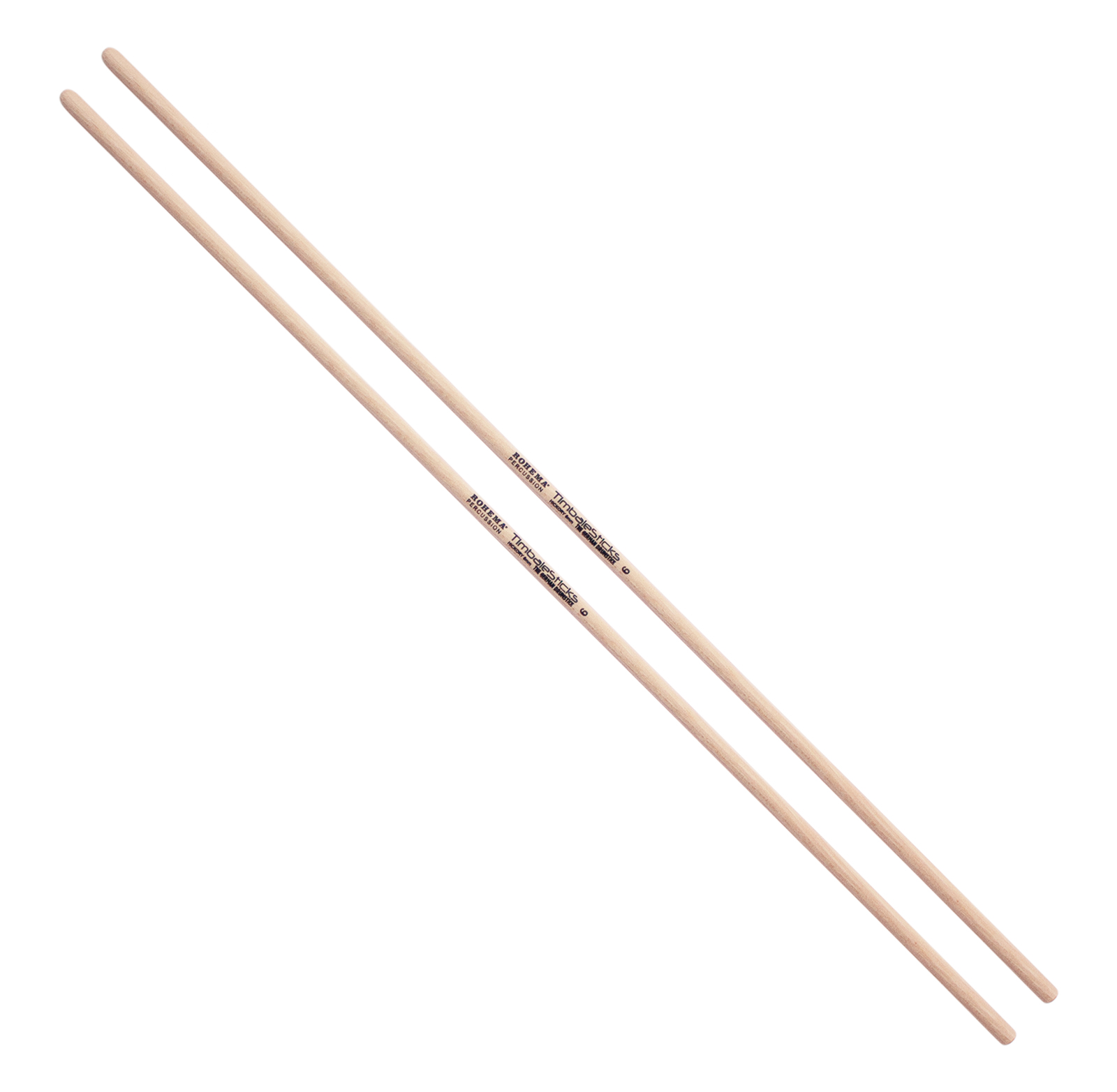 Rohema Baguettes Timbales 6mm Hickory