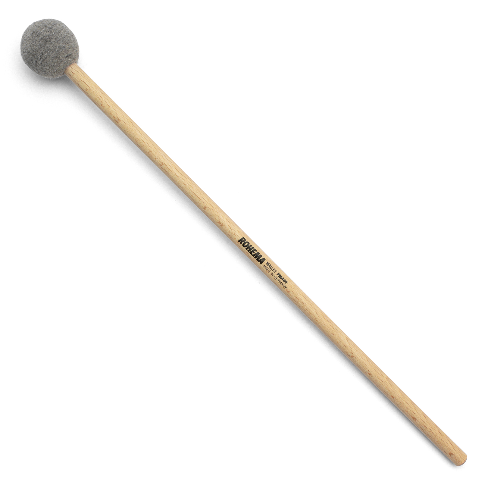 BEECH MALLET 39CM - FELT HEAD 3.5CM MEDIUM HARD