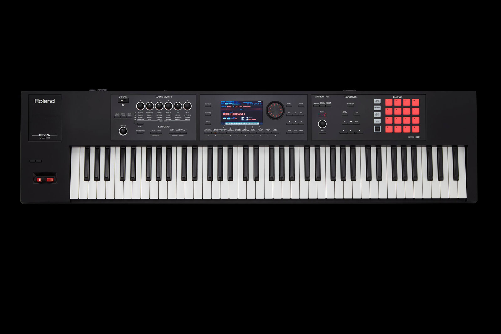 roland ax synth bk electronic keyboard buy online free. Black Bedroom Furniture Sets. Home Design Ideas