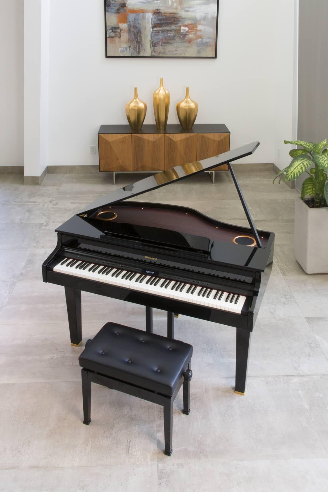 roland rg1 sb grand piano numerique rg1sb piano a queue. Black Bedroom Furniture Sets. Home Design Ideas
