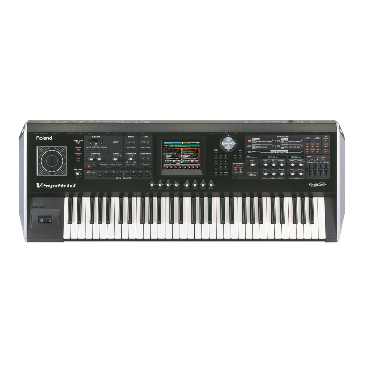 roland v synth gt advanced elastic audio synthesizer v synthgt electronic keyboard buy. Black Bedroom Furniture Sets. Home Design Ideas