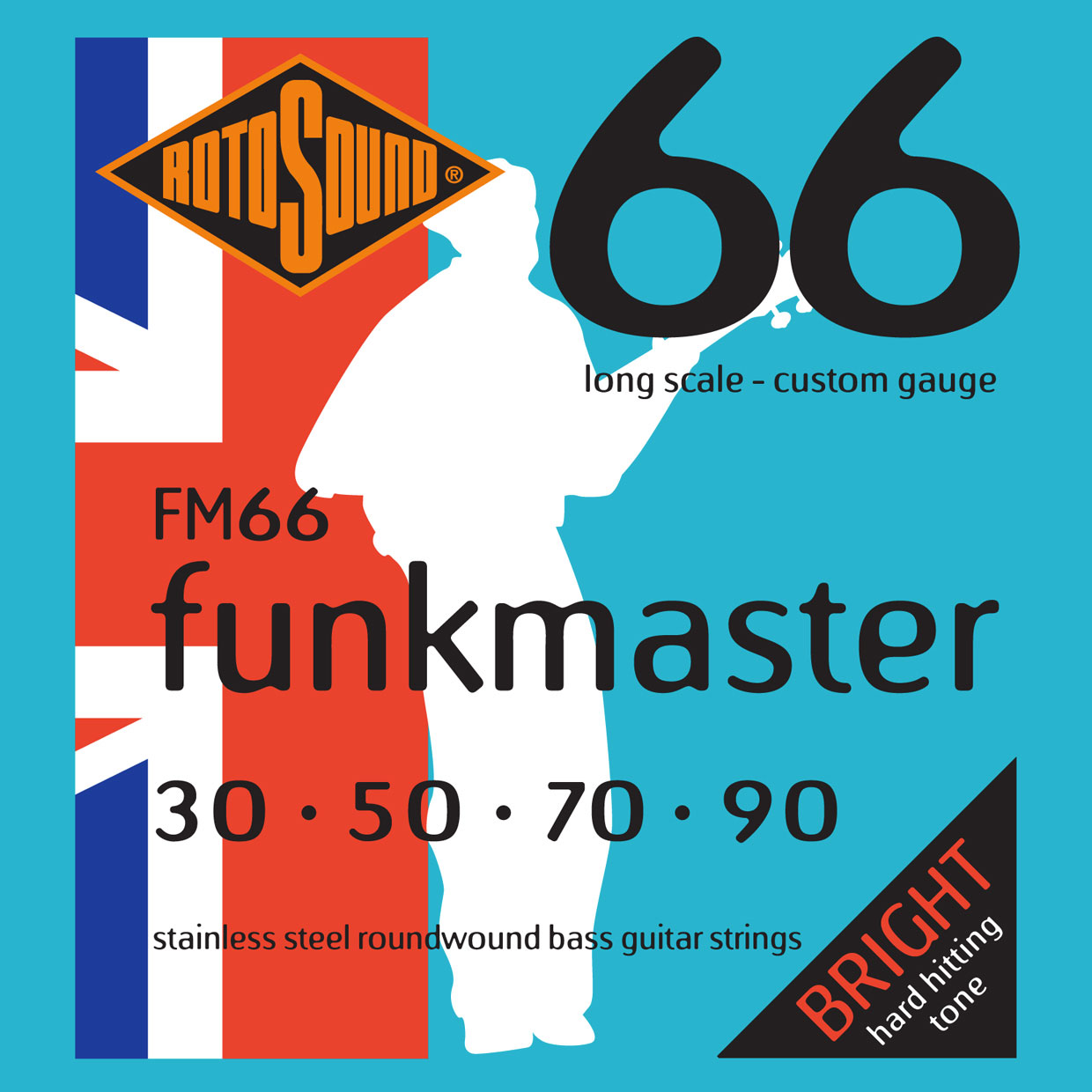 SWING BASS 66 FM66 STAINLESS STEEL FUNKMASTER 3090