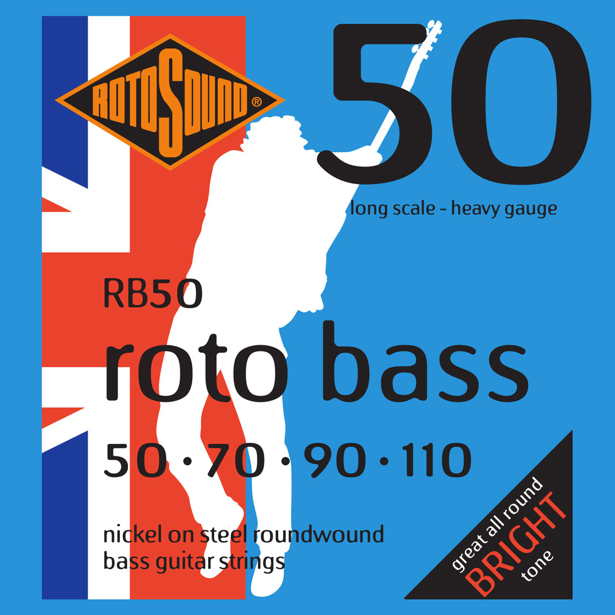 ROTO BASS RB50 NICKEL (UNSILKED) 50110