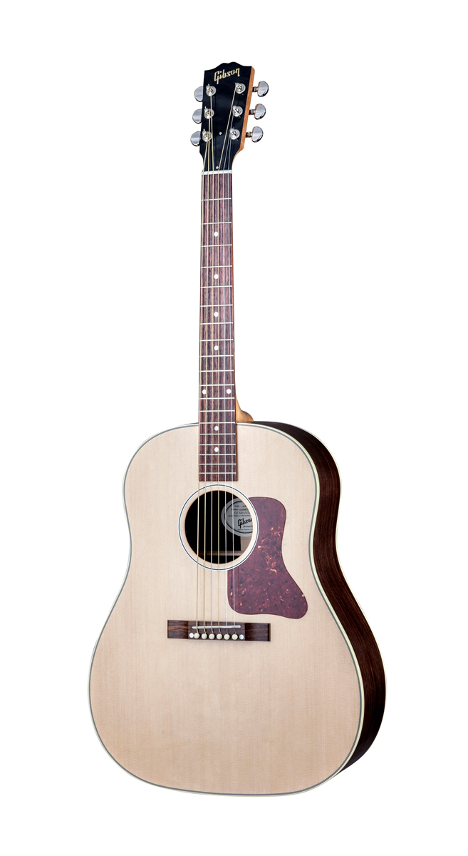 Gibson J29 Standard Antique Natural + Etui