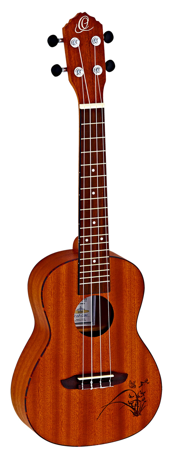Music concert ukulele mahogany 24 inch uke with gig bag for Housse ukulele concert