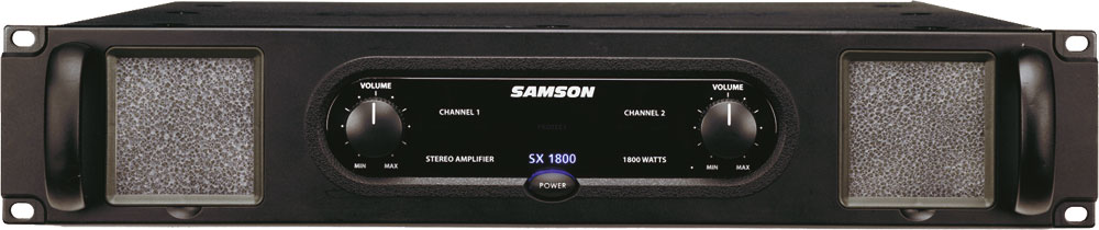 Samson - sx1800 ampli de puissance 2 x 600w / 4 ohms