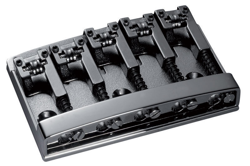 E-BASS BRIDGE 3D-5 5-STRING RUTHENIUM