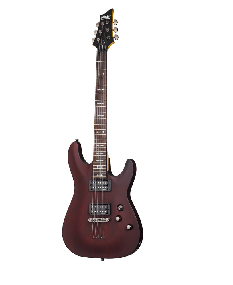 Schecter Omen 6 Walnut Satin