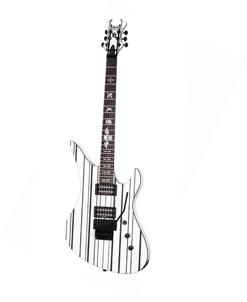 Schecter Synyster Gate Custom Signature White