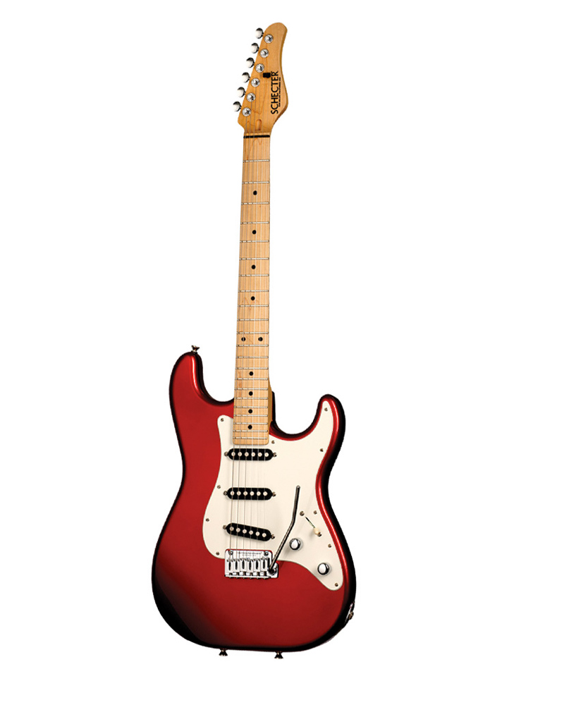 Schecter Traditional Usa Production Series Candy Red