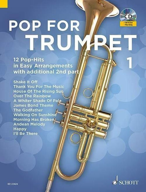 Bye Uwe - Pop For Trumpet Vol.1 + Cd - Trompette