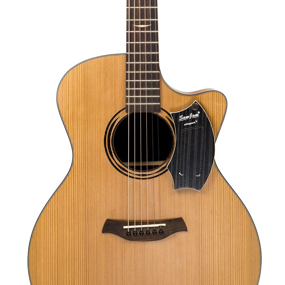 Schlagwerk S-sj110hc - Samjam Guitar Snare Hard Coal Stripes