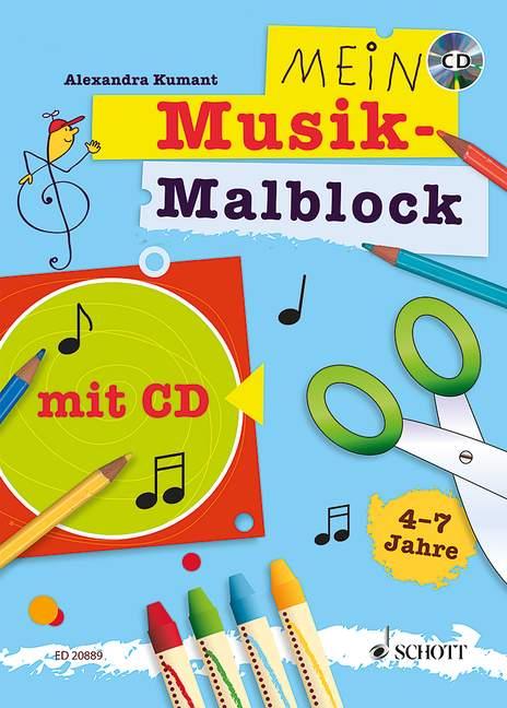 Kumant A. - Mein Musik-malblock - Eveil Musical