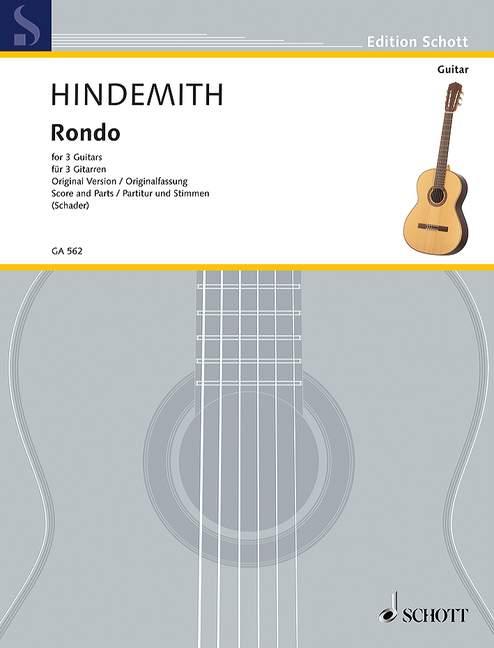 Hindemith P. - Rondo - Guitare