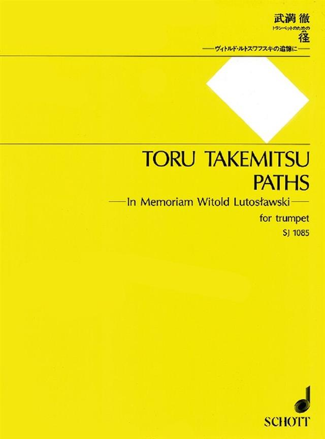Takemitsu Toru - Paths - Trompette