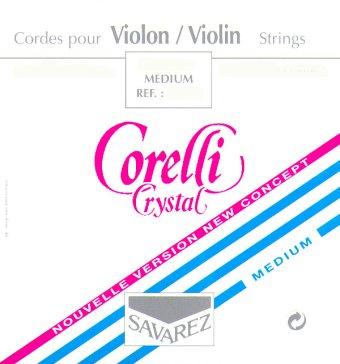 Savarez Corelli Crystal Violon 4/4 Jeu De Cordes 700mb Tirant Moyen
