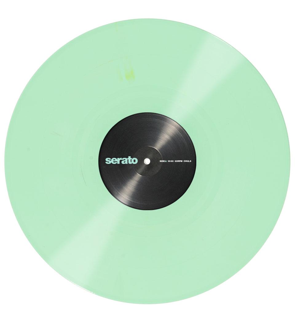serato vinyle vert 12 paire dj gear buy online free. Black Bedroom Furniture Sets. Home Design Ideas