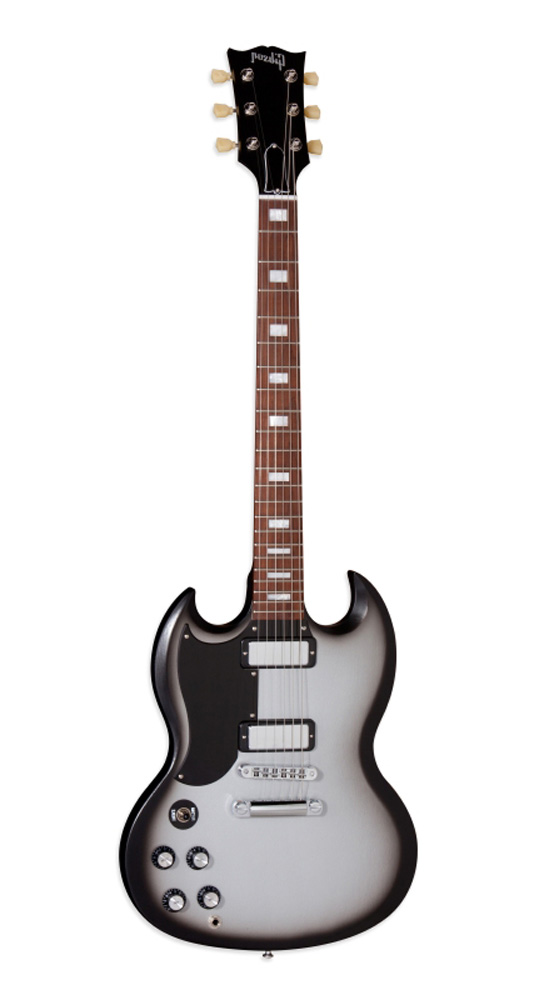 Gibson Gaucher Sg Studio 70's Tribute Satin Silverburst + Housse