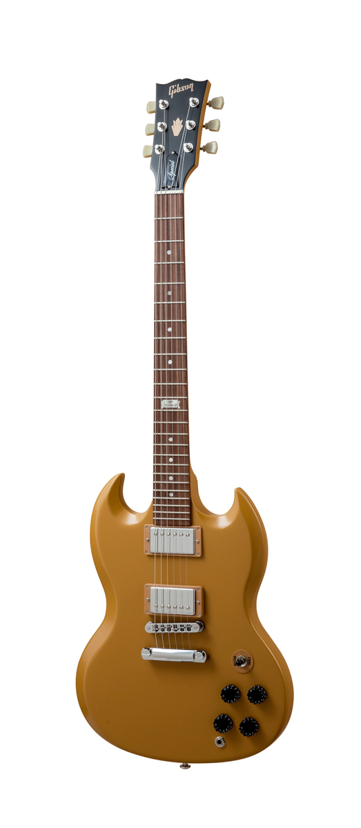 Gibson Sg Special 2014 Butterscotch Vintage Gloss Chrome + Housse