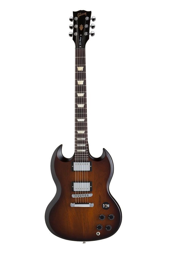 Gibson Sg Tribute 60's Min-etune Vintage Sunburst Vintage Gloss + Housse