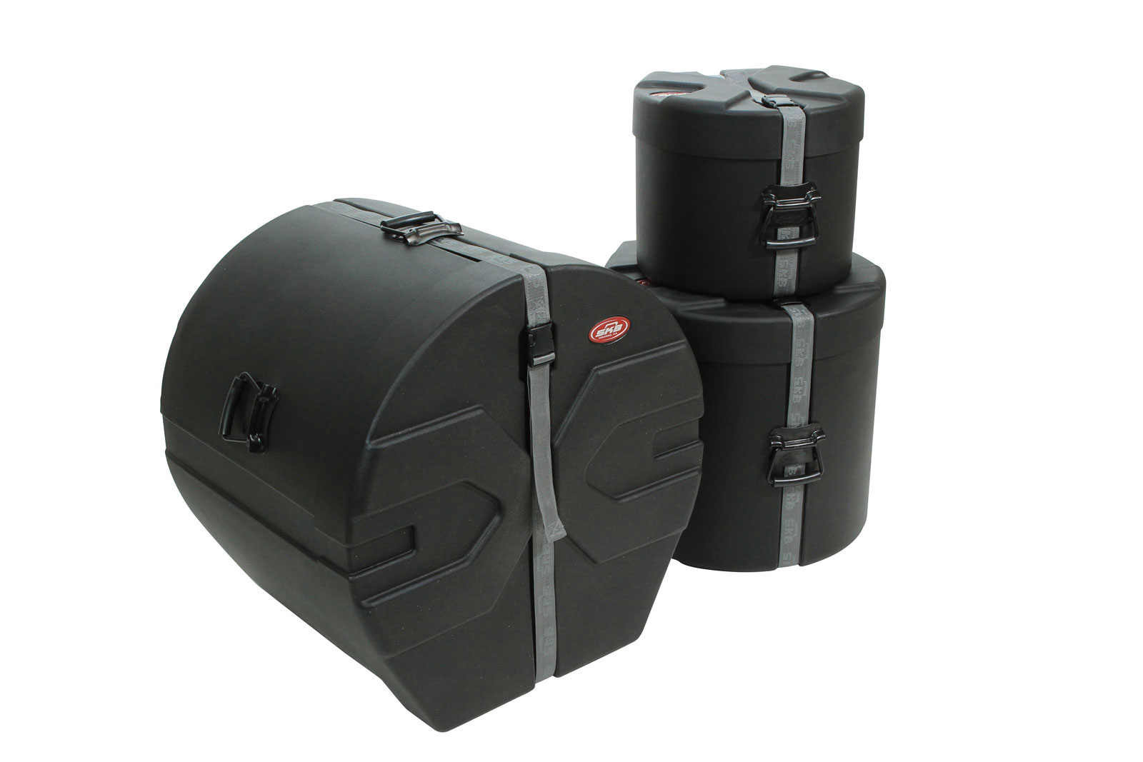 MUSIC PERCUSSION PRODUCTS DRUM KITS 1SKB-DRP2 BLACK