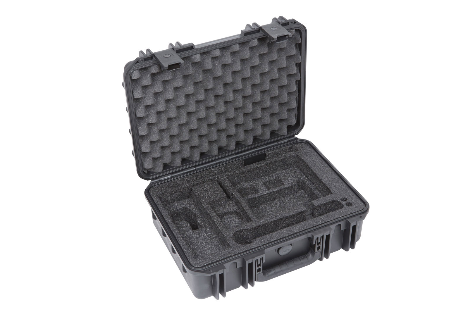 MUSIC MIC CASES ISERIES WATERPROOF CASE WITH SHURE SLX/ULX CUSTOM INTERIOR BLACK