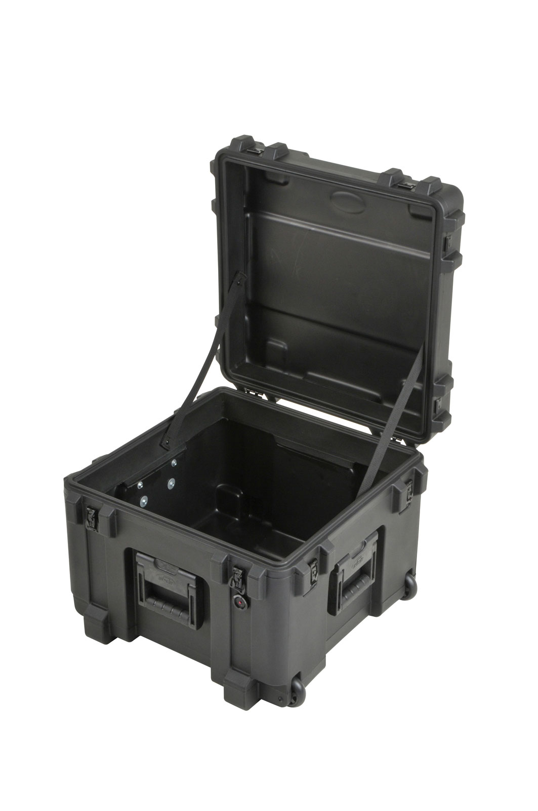 3R1919-14B-EW - UNIVERSAL WATERPROOF ROTO-MOLDED CASE 483 X 483 X 368 (289+76) MM EMPTY WITH WHEEL