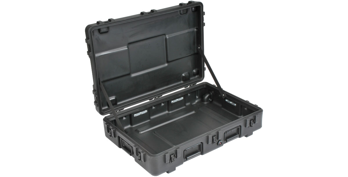 INDUSTRIAL SINGLE LID CASES 3R SERIES 3R3221-7B-E BLACK