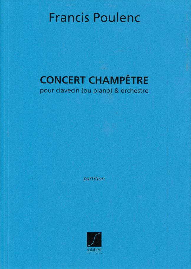 Poulenc F. - Concert Champetre - Clavecin Et Orchestre