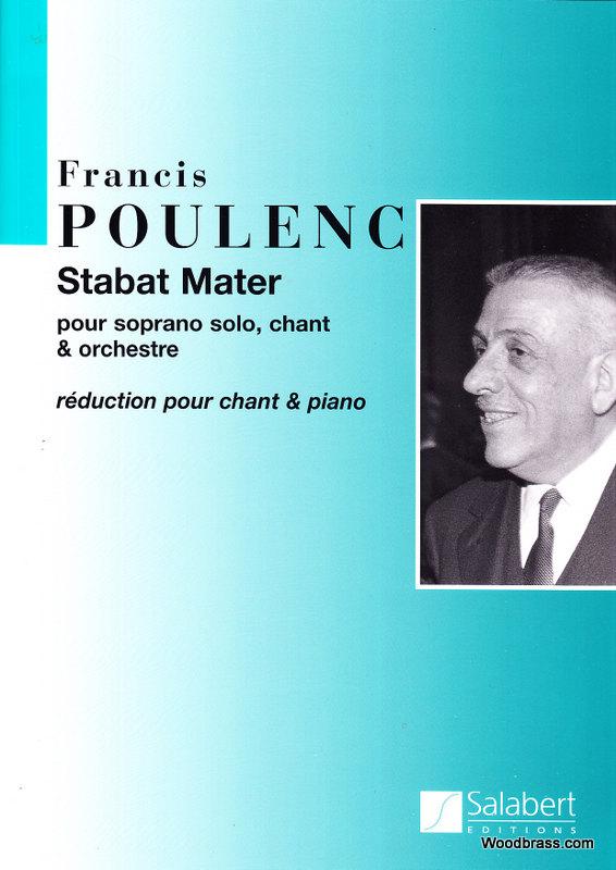 Poulenc F. - Stabat Mater - Chant Et Piano