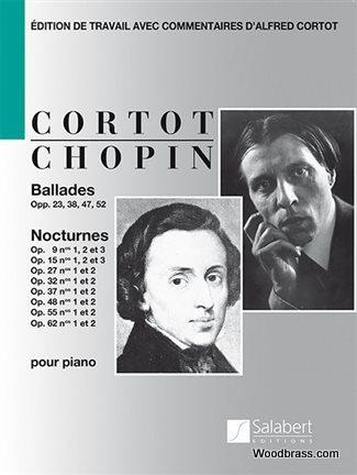 Chopin F. - Ballades and Nocturnes (cortot) - Piano