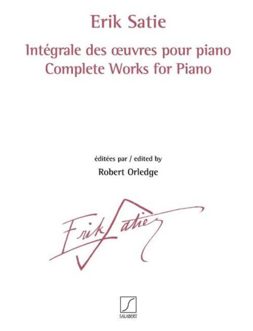 Satie Erik - Integrale Des Oeuvres Pour Piano
