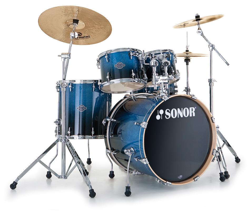 Sonor Esf11 - Essential Force Fusion 20 Studio - Blue Fade