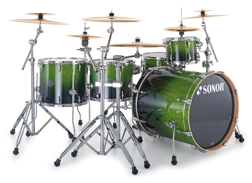 Sonor Esf11 - Essential Force Fusion 20 Studio - Green Fade