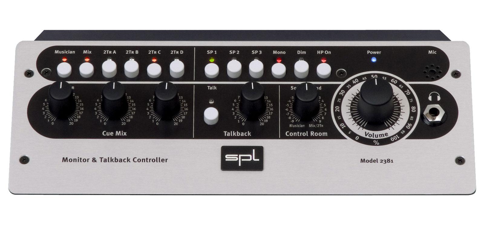 Spl Monitor & Talkback Controller - Mtc