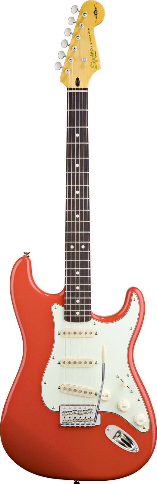 Squier By Fender Squier Simon Neil Stratocaster Fiesta Red