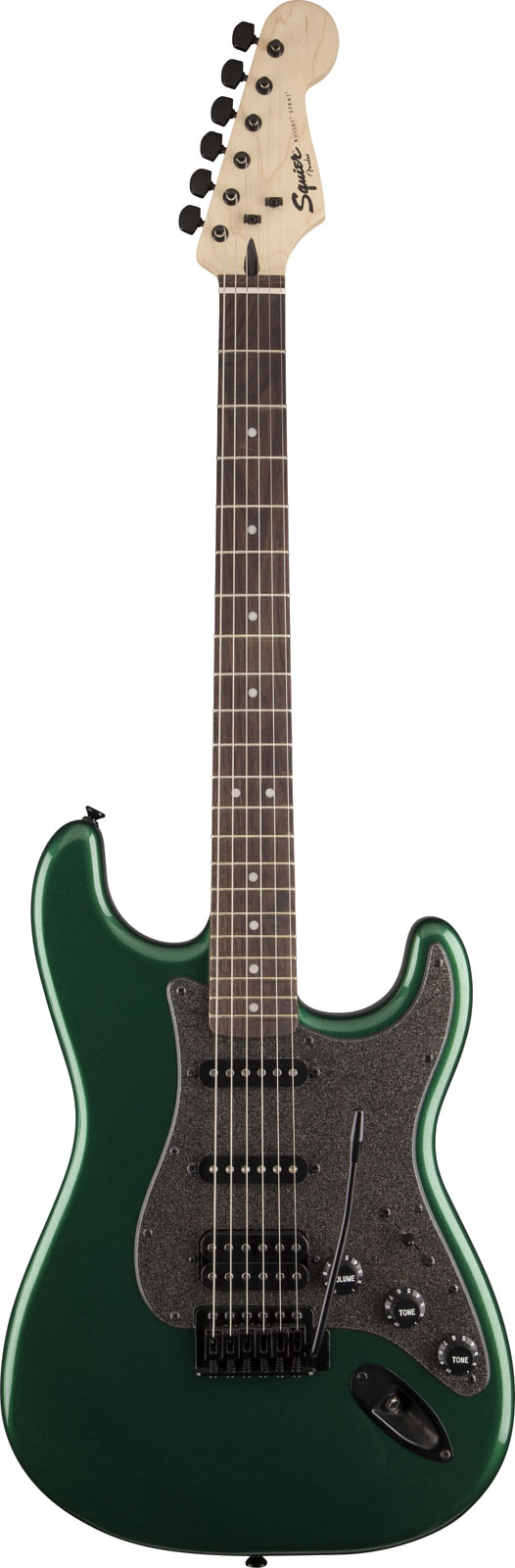 Squier By Fender Stratocaster Bullet Hss Green Metallic