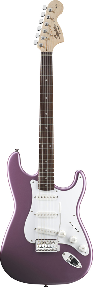 Squier By Fender Stratocaster Burgundy Mist Affinity