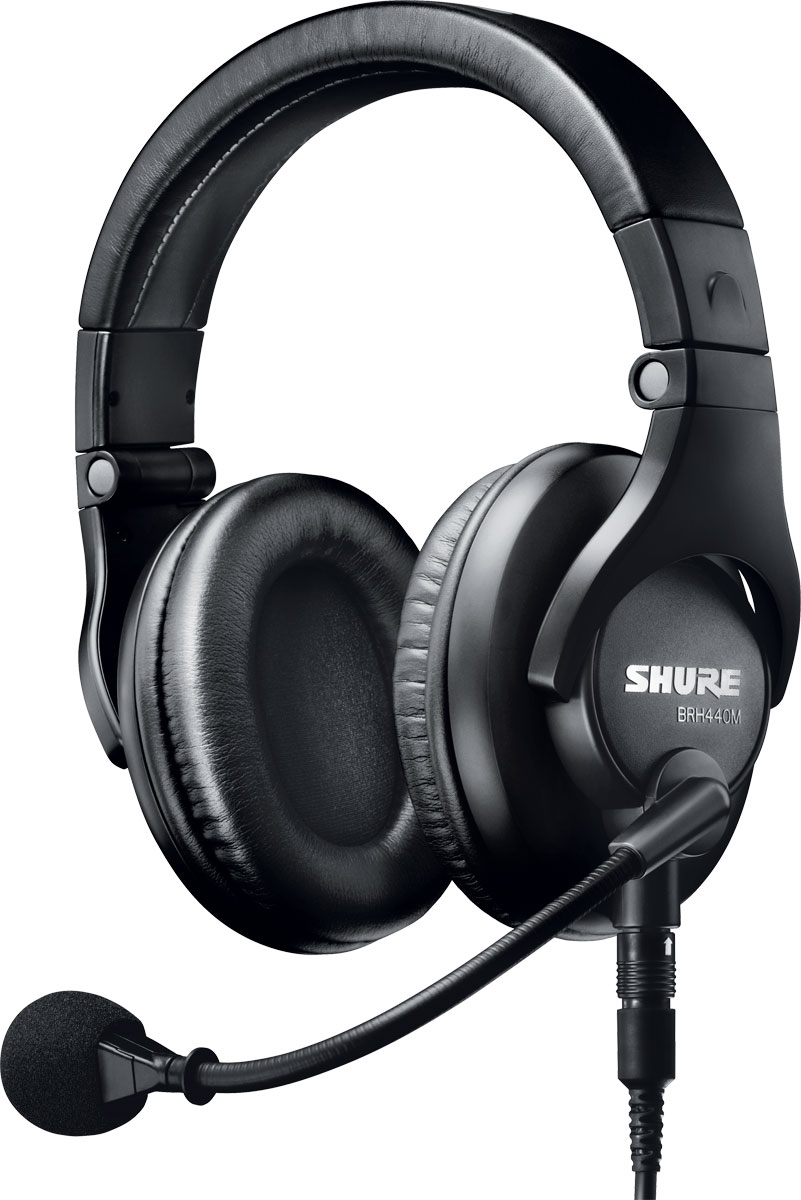 shure micro casque broadcast accessories studio live buy online free. Black Bedroom Furniture Sets. Home Design Ideas
