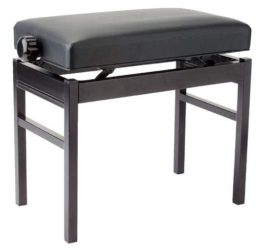 stagg pb43 bkp vbk banquette de piano noir piano buy online free. Black Bedroom Furniture Sets. Home Design Ideas
