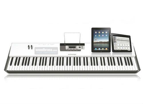 studiologic acuna 88 clavier maitre midi usb i pad 88 notes toucher lourd fatar accessories