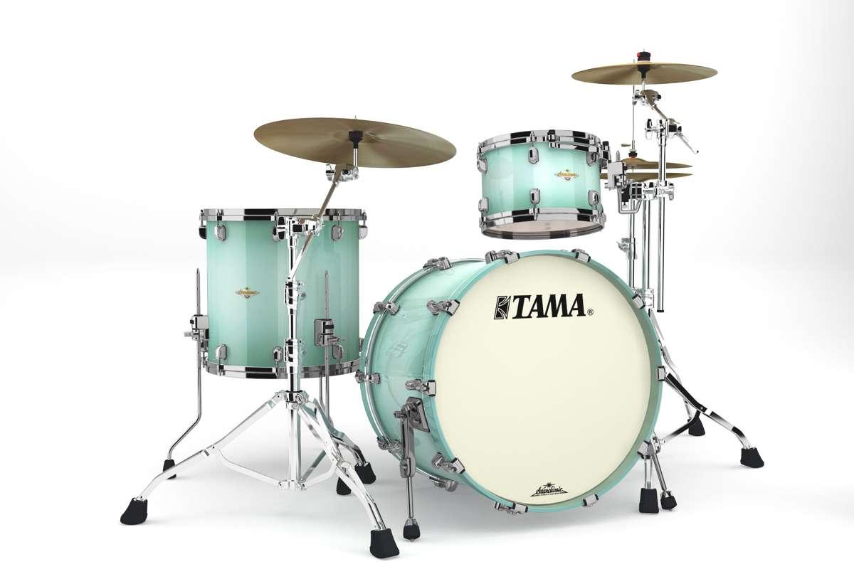 Tama Ma32rzbns-ljb - Starclassic Maple 3 Futs Sans Hardware Light Jade Burst