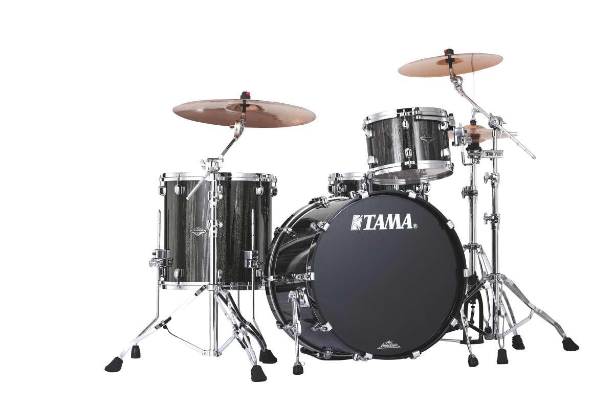 Tama Pp32rzs-bcs - Starclassic Performer B/b 3 Futs 22/12/16 Sans Hardware Black...
