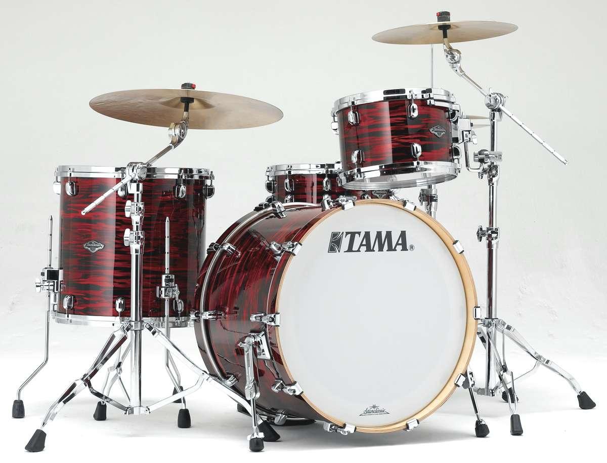 Tama Pr32rzs-roy - Starclassic Performer B/b 3 Futs 22/12/16 Sans Hardware Red Oyster
