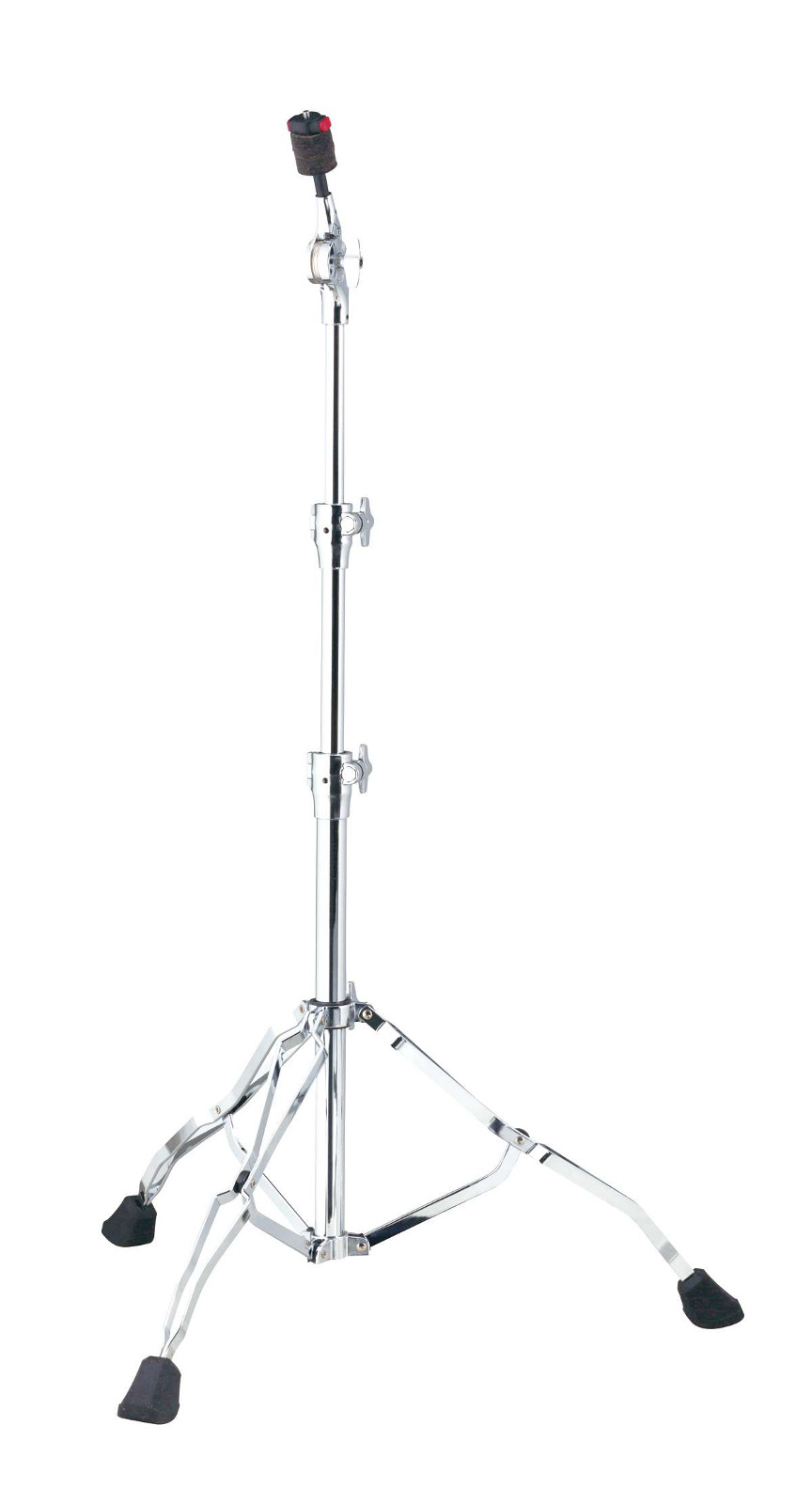 HC82W - STRAIGHT CYMBAL STAND ROADPRO DOUBLE BRACED