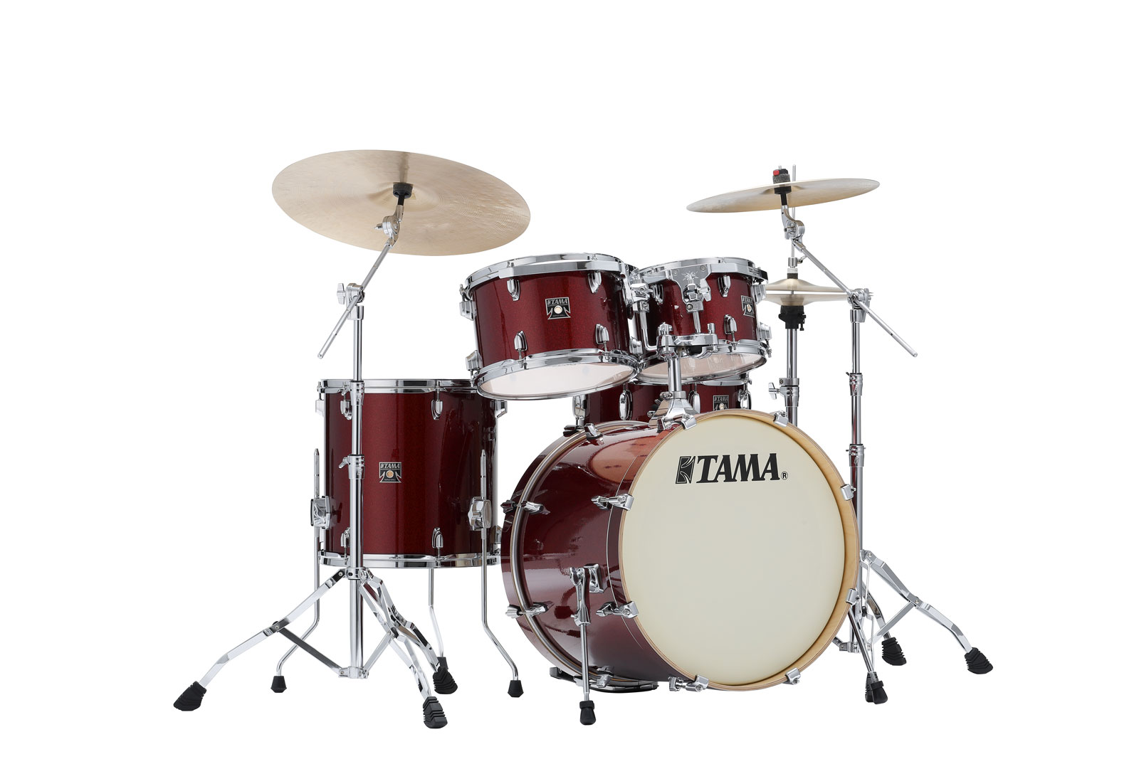 CK50RS-DRP - SUPERSTAR CLASSIC MAPLE (UNICOLOR WRAP) 20/10/12/14/14X5 DARK RED SPARKLE