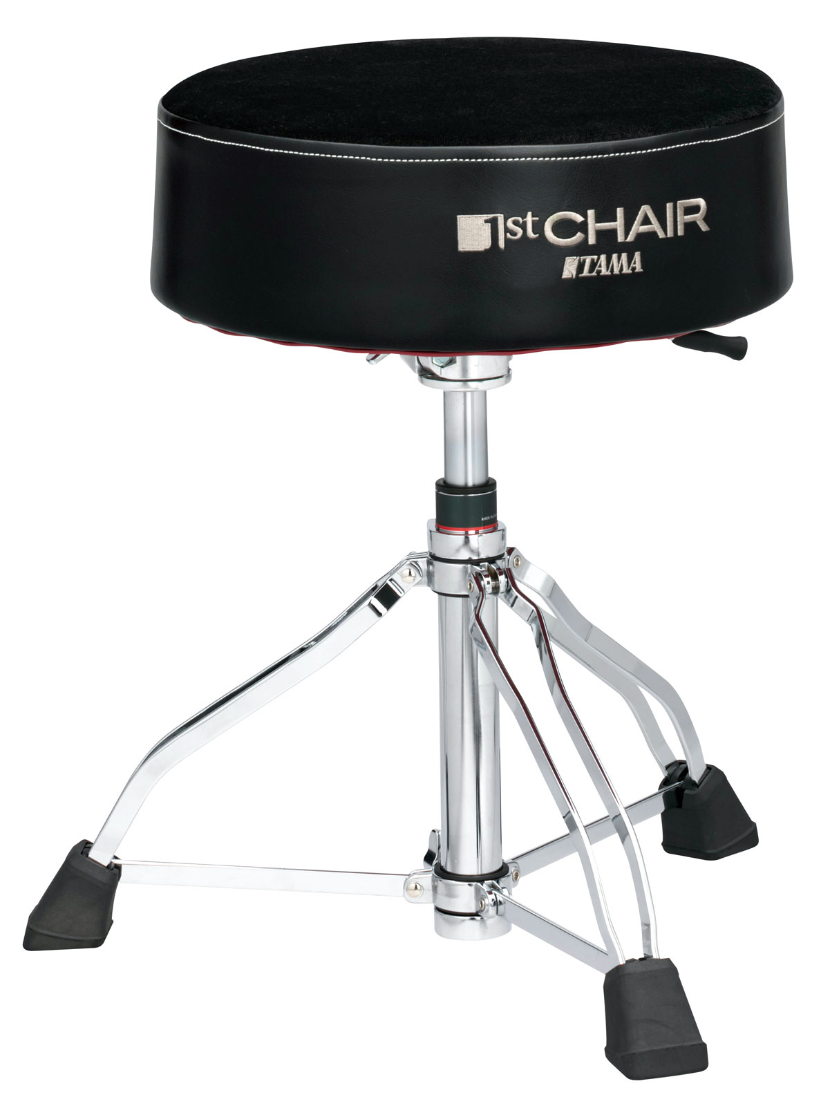 "HT850BC DRUM THRONE 1ST CHAIR ROUND RIDER XL HYDRAULIX ""CLOTH TOP"""