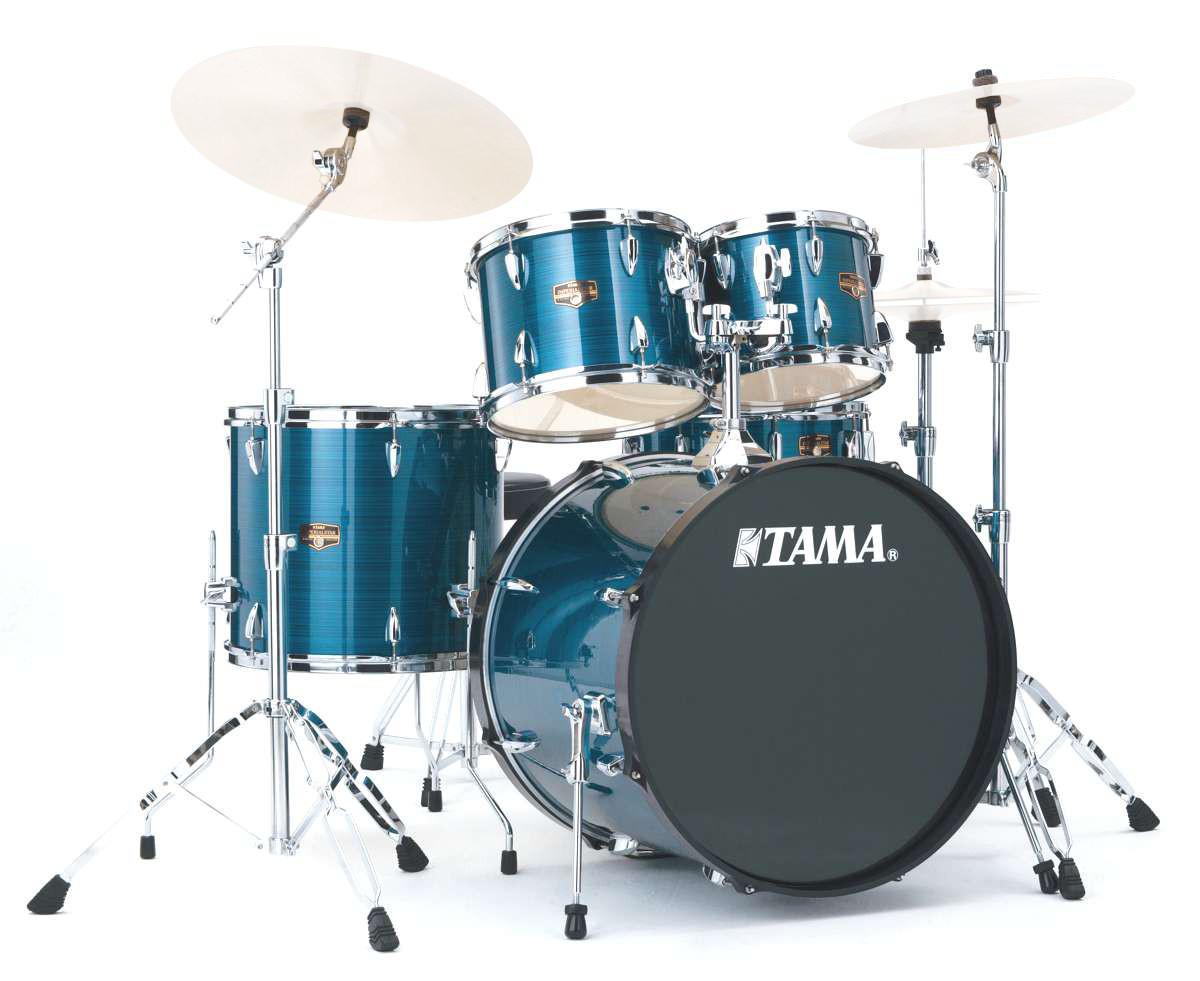 Tama Ip50h6-hlb - Kit Imperialstar Fusion 20 - Haireline Blue